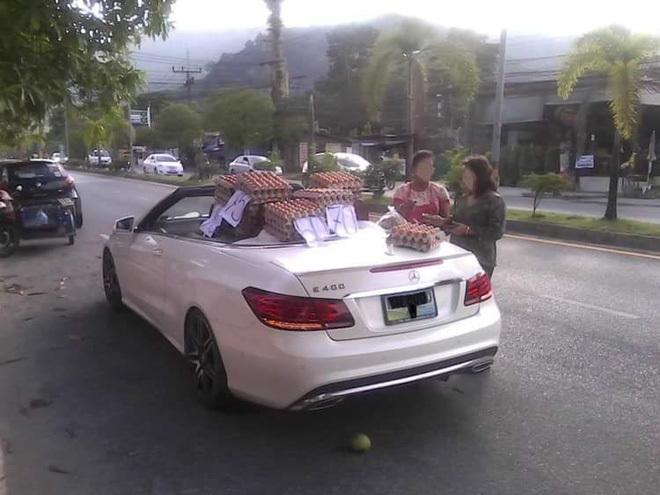 mercedes,xe sang đi bán hàng
