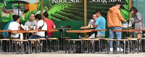 Vietnamese-owned coffee chains show strong rise