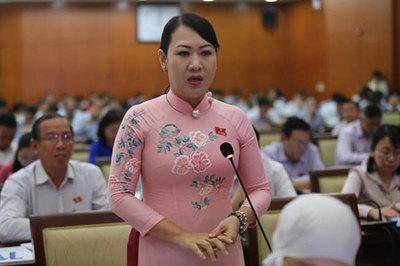 Nữ đại biểu HĐND 'hiến kế' mua lu chống ngập