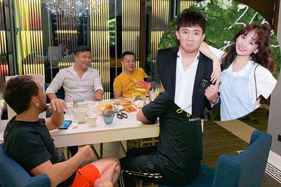 Hari Won 'cảnh cáo' Trấn Thành vì tụ tập bạn bè đến 3h sáng
