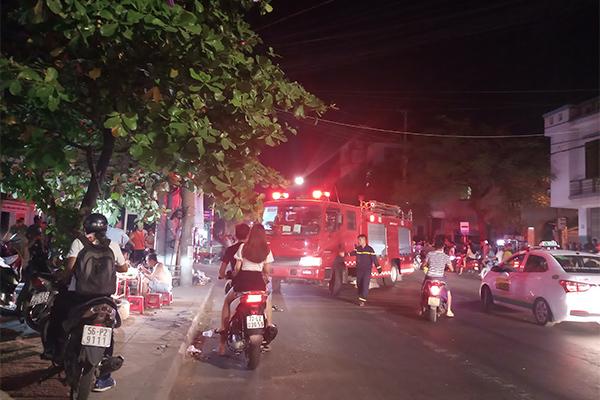 Cháy,Bình Định,cháy rừng