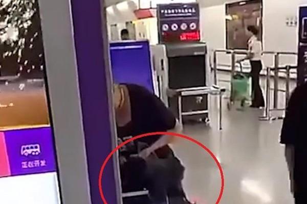 Bị cấm mang gà sống lên tàu, phụ nữ cắt tiết gà tại sân ga