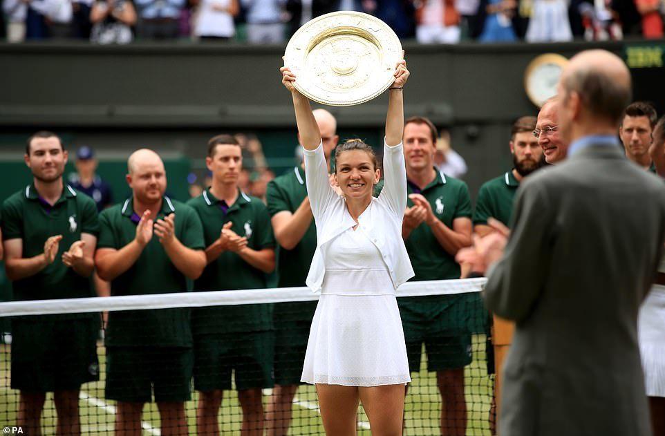 Serena Williams,Simona Halep,Wimbledon 2019