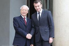 Tổng bí thư, Chủ tịch nước gửi điện mừng Tổng thống Pháp