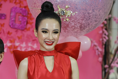 Angela Phương Trinh mặc lạc quẻ giữa sự kiện
