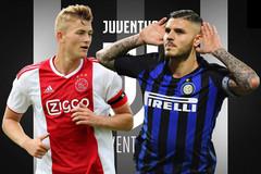 """Juventus nổ liền hai """"bom tấn"""" De Ligt và Icardi"""