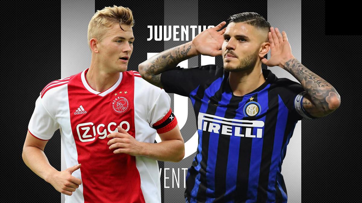 Juventus,De Ligt,Matthijs de Ligt,Mauro Icardi