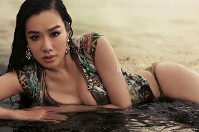 Những người đẹp Trung Quốc táo bạo khoe thân dù có tuổi