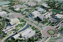 Điều chỉnh quy hoạch chi tiết Đại học Quốc gia Hà Nội tại Hoà Lạc