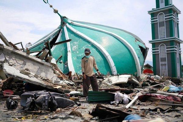 Động đất cực mạnh tấn công Indonesia