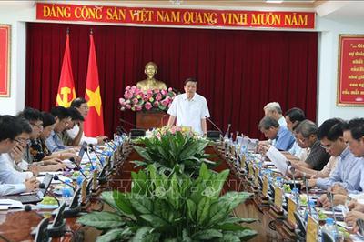 Đoàn kiểm tra của Ban Bí thư làm việc tại Đồng Nai