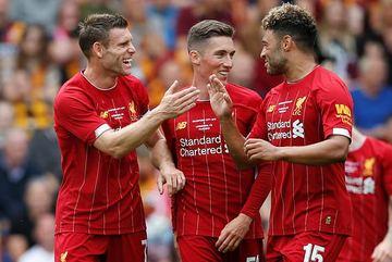 Liverpool thị uy sức mạnh nhờ cú đúp của Milner