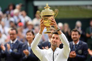 Thắng Federer siêu kịch tính, Djokovic vô địch Wimbledon 2019