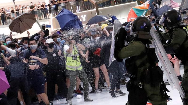 Hong Kong,biểu tình,dự luật dẫn độ,đụng độ