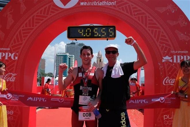 Australian triathlete triumphs at IPPGroup Challenge Vietnam