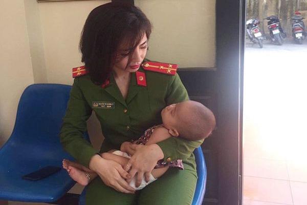 Bố bế con gái 7 tháng tuổi định nhảy cầu Nhật Tân tự tử