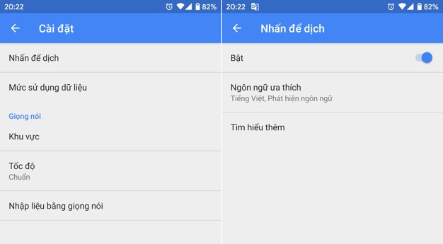 Google,Google Translate,Android,thủ thuật Android