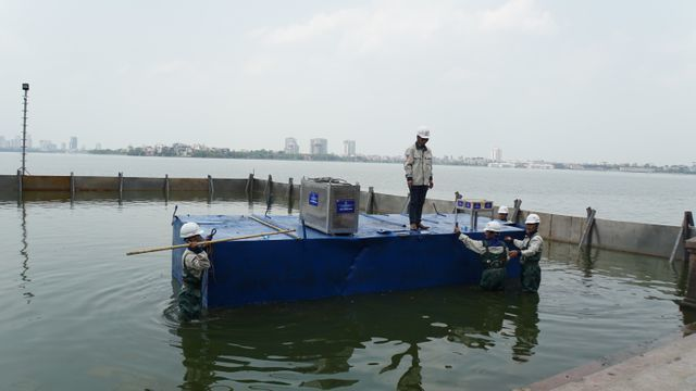 West Lake pollution reduces with new technology