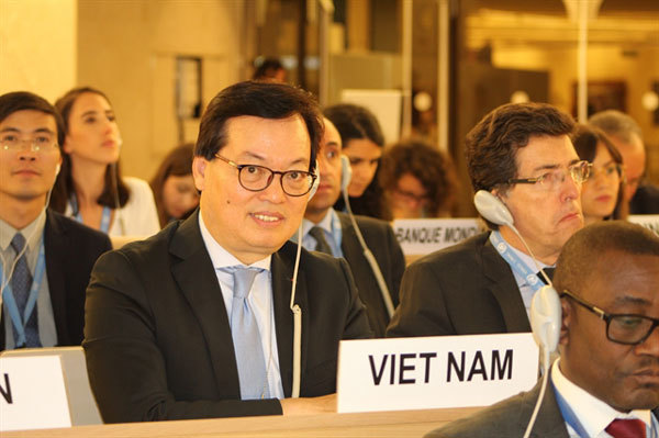 UNHRC adopts Vietnam's resolution on climate change and human rights