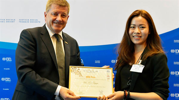 Academic's study of migrant workers wins prize from ILO