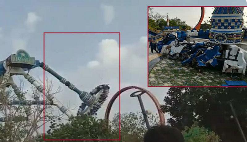 Ấn Độ,tai nạn,đu quay,công viên giải trí