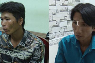 Bắt khẩn cấp 2 thanh niên lấy xe máy của nạn nhân chết bên đường
