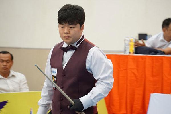 Myung-Woo Cho wins International three-Cushion Billiards Tournament