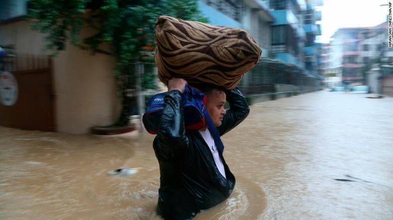 Ấn Độ,Nepal,Bangladesh,Nam Á,Lũ lụt,lở đất,thiên tai,mưa bão