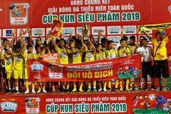 SLNA lần thứ 7 vô địch U13 toàn quốc