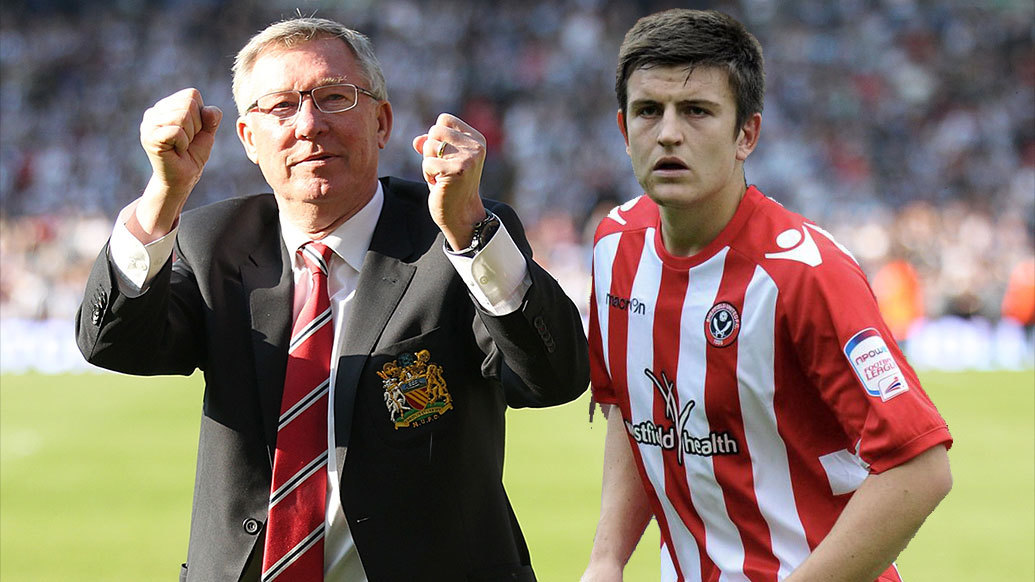 MU,Sir Alex Ferguson,Solskjaer,Harry Maguire