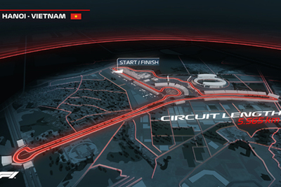 Mở bán toàn bộ hạng vé chặng đua F1 Việt Nam