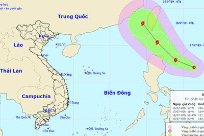 Xuất hiện áp thấp nhiệt đới gần Biển Đông, khả năng thành bão