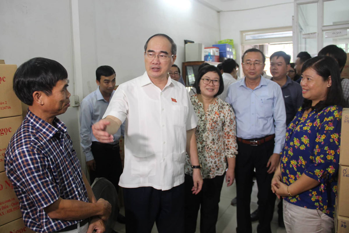 Bí thư Nguyễn Thiện Nhân: Trong tháng 7 giải quyết xong khiếu kiện ở Thủ Thiêm