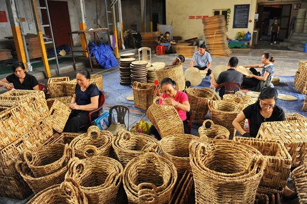 Making use of water hyacinth