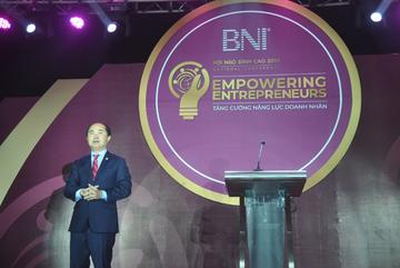 Hơn 1.000 doanh nhân trong, ngoài nước dự Hội ngộ đỉnh cao BNI Việt Nam 2019