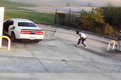 Trộm ô tô bất thành còn bị tưới xăng vào người