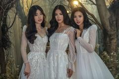 Hoa hậu Tiểu Vy hóa cô dâu đẹp như mộng bên Á hậu Phương Nga, Thúy An