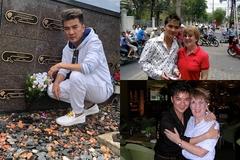 Đàm Vĩnh Hưng xúc động đến thăm mộ mẹ nuôi tại Mỹ