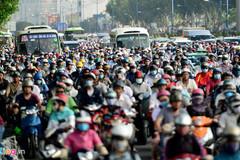 Đề xuất lắp 34 trạm thu phí ôtô vào trung tâm Sài Gòn