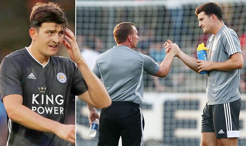 Khiêu khích MU, Leicester hét giá Maguire 90 triệu bảng
