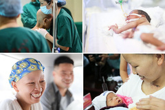 Miracle mother and baby return home together