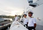 Tàu hộ vệ tên lửa thăm LB Nga và tham dự duyệt binh
