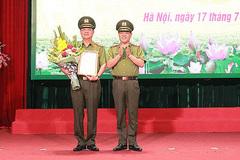 Bổ nhiệm lãnh đạo Công an Hà Nội, TAND Thừa Thiên-Huế