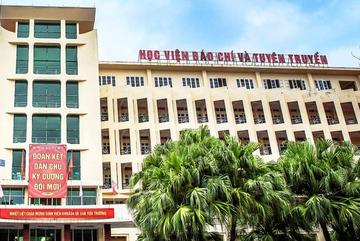 HV Báo chí và Tuyên truyền công bố điểm trúng tuyển học bạ
