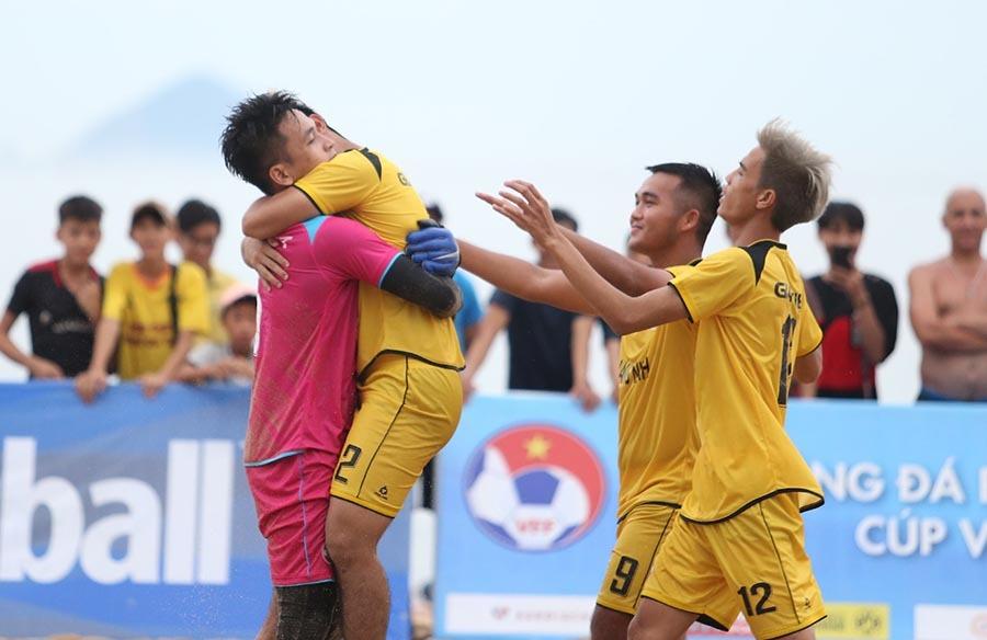bóng đá bãi biển,bóng đá Việt Nam