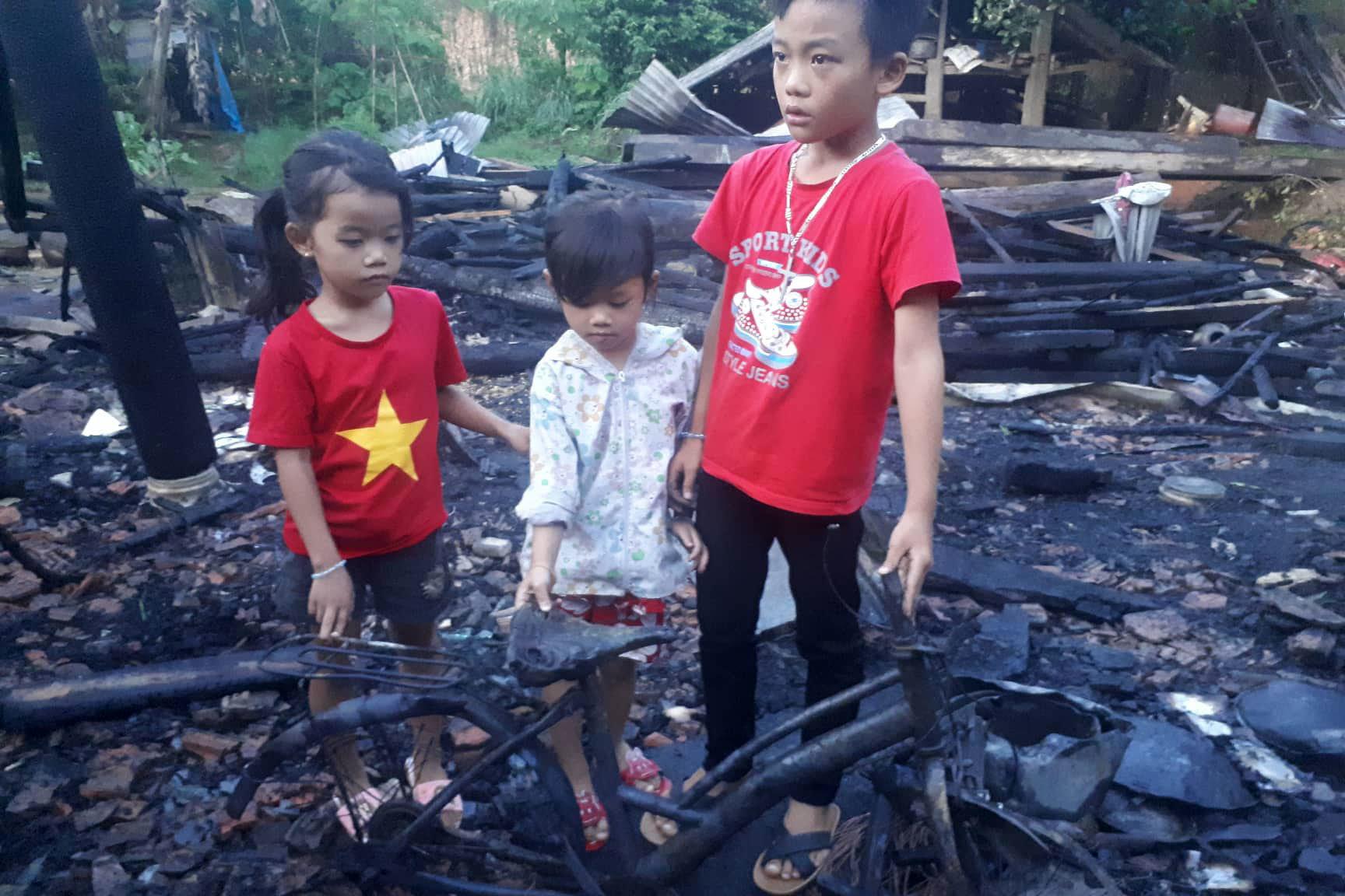 cháy,cháy nhà,hỏa hoạn,Hà Tĩnh