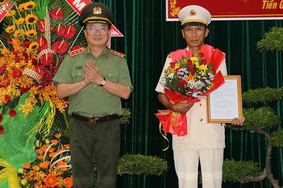 Phó giám đốc Công an Bến Tre làm Giám đốc Công an Tiền Giang