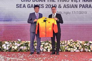 Đoàn thể thao Việt Nam được tiếp thêm sức mạnh trước SEA Games