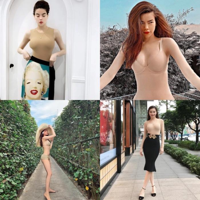 Sao Việt gây hiểu nhầm tai hại với trang phục nude bó sát