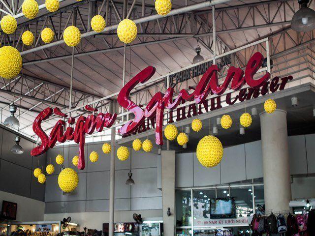 hàng giả,hàng nhái,Sài Gòn Square,Chợ Bến Thành
